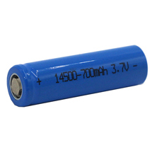 3.7V Li Ion Battery Cell 14500 700mAh Rechargeabel Lithium Batteries