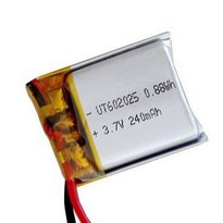 602025 3.7 V Lipo Battery 240mAh Lithium Ion Polymer Battery Pack