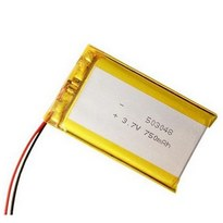 503048 3.7V Lipo Battery 750mAh High Capacity Lithium Polymer Battery