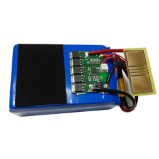 4S LiPO Battery Pack Low Internal Impedance 14.8 V 5000mAh Lithium Rechargeable Battery Pack Design