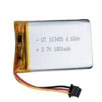 103450 Rechargeable Lithium Polymer Battery 3.7 V 1800mah